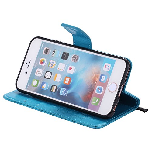 Coque iPhone 6G / 6S Case Wallet Phone Stand Cover with Credit Card Slots Flip Protective Case For Apple iPhone 6G / 6S