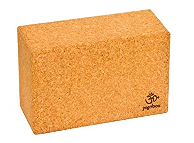Yogaklotz Kork Medium, 23 x 14 x 7, 6 100% Naturkork