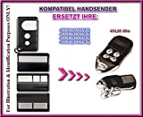 Kompatibel mit Liftmaster Chamberlain 4330E / 4332E / 4333E / 4335E / 4330EML / 4332EML / 4333EML / 4335EML / HE4331 Handsender, Sender, Esatz, Remote control