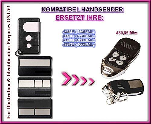 Chamberlain 4330E, 4332E, 4333E, 4335E kompatibel handsender, ersatz sender, 433.92Mhz rolling code. Top Qualität ersatzgerät!!!