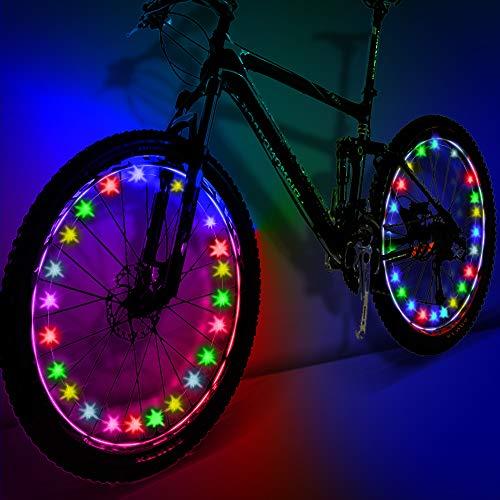My-My Regali per Ragazzi Adolescenti, Luci per Ruote Bici per Bambini Giocattoli per Ragazze di 5-14 Anni Regali per Ragazze di 5-14 Anni Colore MMUKDCD07