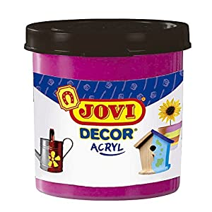 Jovi - Acryl, Caja de 6 Botes, Pintura multisuperficie, Color Magenta (67008)