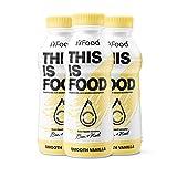 YFood Vanille | Laktose- und glutenfreier Nahrungsersatz | 33g Protein, 26 Vitamine und Mineralstoffe | Leckere Astronautennahrung - 25% des Kalorienbedarfs | Trinkmahlzeit, 12 x 500 ml (1 kcal/ml)