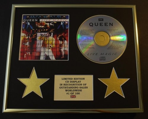 QUEEN/CD Display/Limitata Edizione/Certificato di autenticità/LIVE MAGIC