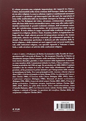 Principi di diritto ecclesiastico. Tradizione europea, legislazione italiana
