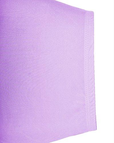 Dresstells Jupon années 50 vintage en tulle Rockabilly Petticoat longueur 66cm/26 Lavande