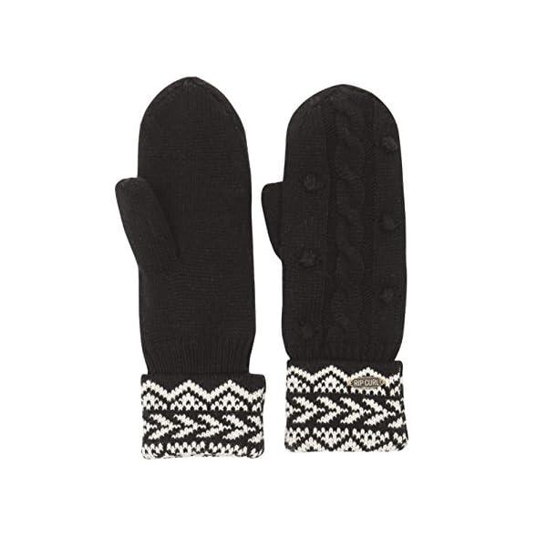 RIP CURL Lofofora Gloves – Guantes para Mujer, Color Negro