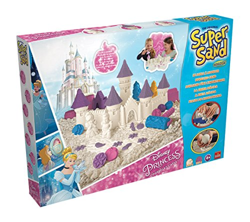 Super Sand - Castle, actividad creativa con arena y moldes (Goliath 83253006)