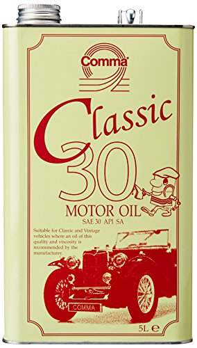 Comma CLA305L Klassisches Motoröl 30 5 L (Classic Car Motor Oil)