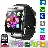Pandaoo Smart Armbanduhr Handy entsperrt Q18Universal GSM Bluetooth 4.0NFC 500mAh Akku Musik Player Kamera Kalender Stoppuhr Sync mit Android Smartphones