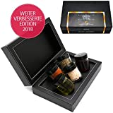 Hallingers Mix Gewürz Essig Öl - Grill & Chill, 5 x Miniglas in MiniDeluxe-Box, 1er Pack (1 x 130 g)