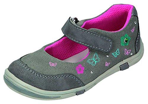 Greenies Chaussures basses enfants avec ballerine Gris - platin/komb.