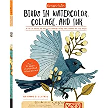 Geninne's Art: Birds in Watercolor, Collage, and Ink; a Field Guide to Art Techniques and Observing in the Wild