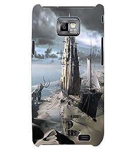 ColourCraft Creative Image Design Back Case Cover for SAMSUNG GALAXY S2 I9100