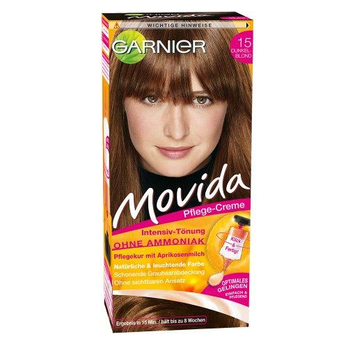 Garnier Movida, 15 Dunkelblond, 3er Pack (3 x 1 Stück)