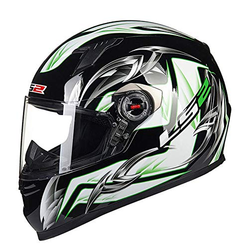 Casco moto adulto Full Face Off Road Antivento Anti Fog Mountain Bike Motocross Protezioni anti collisione Anti caduta Protezioni Racing Racing