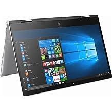 HP Envy X360 2-in-1 Flagship High Performance 15.6 Inch Full HD Touchscreen Backlit Keyboard Laptop PC, Intel Core I5-8250U Quad-Core, 12GB RAM, 128GB M.2 SSD + 1TB HDD, Bluetooth, WiFi, Windows 10