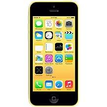 "Apple iPhone 5c - Smartphone libre iOS (16 GB, pantalla 4"", cámara 8 Mp), amarillo"