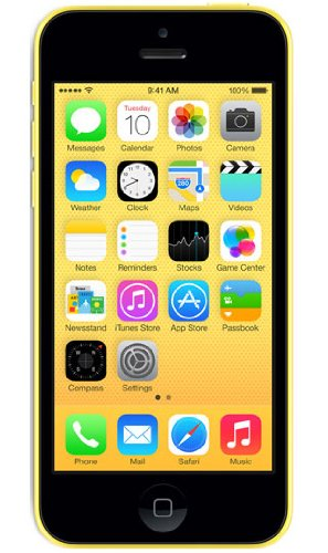 Apple iPhone 5C Smartphone débloqué 4 pouces 16 GB iOS 7 Jaune (import Europe)