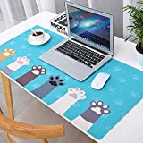 Thboxes Fashion Pattern Oversized Precision Pro Gaming Mouse Pad Computer Desk Mat Selling Cute cat Claws 900x420