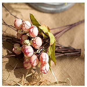 AVXZK 10 Hersteller großhandel frühling 15 Sterne Knochen Blume kleine Tee Knochen Blume Rose knospe Perle Knochen Blume künstliche Blume Kunststoff Blume Knochen Blume Herbst fleischpulver