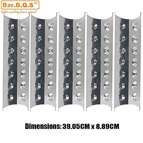 Bar. b.q.s 951815Pack Edelstahl Heat Teller Ersatz für Brinkmann Pro Series 8410, Charmglow 810-8410-f, Kenmore 148.1637110und Master Forge e3518-lp, l3218, 2518-3Gas Grill Modelle