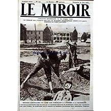 MIROIR (LE) [No 240] du 30/06/1918 - RECRUES AMERICAINES DU CAMP DIX S'EXERCANT A L'ESCRIME A LA BAIONNETTE.