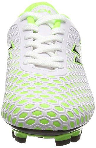 Gola Ion Blade  Boys  Football Competition Shoes  White  White Lime   11 Child UK  29 EU