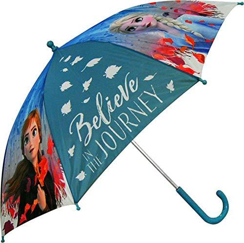 Disney frozen - ombrello da campeggio e trekking, 45 cm, unisex, multicolore, taglia unica