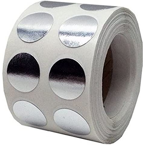 Tile & Sticker-Adesivi tondi 2,54 cm (1