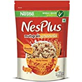 Nestlé NesPlus Breakfast Cereal, Multigrain Granola – Nutty Honey, 235g Pouch