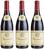 Louis Jadot Bourgogne Rouge Pinot Noir Couvent des Jacobins, 3er Pack 2015 (3 x 750 ml)