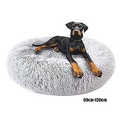 Deluxe Rundes Haustierbett/Haustiernest Für Hunde Und Katzen, Kissen Für Katzen/Hunde, 60Cm-120Cm / 5 Größen,120cm
