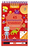 Mein Ruckzuck-Rätselblock für zwischendurch   Rätselbuch mit abwischbarem Stift   Für Kinder ab 6 Jahren