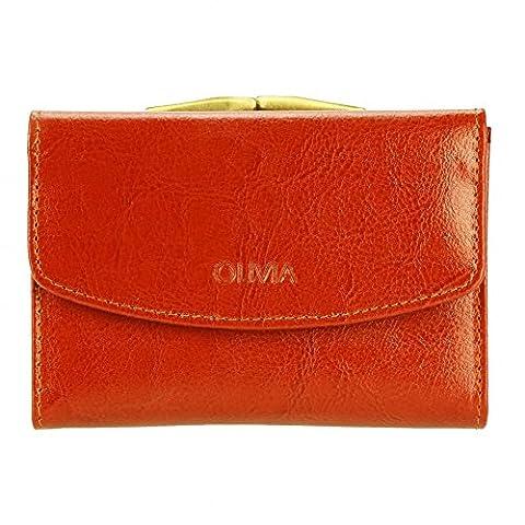 Olivia - Portefeuille porte-monnaie femme Cuir - Portefeuille pas cher