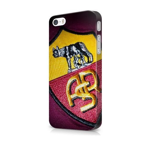 iPhone 5/5S/SE coque, Bretfly Nelson® LOGO ADIDAS Série Plastique Snap-On coque Peau Cover pour iPhone 5/5S/SE KOOHOFD919493 AS ROMA - 012