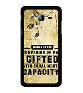 ifasho Designer Back Case Cover for Samsung Galaxy On7 G600Fy :: Samsung Galaxy Wide G600S :: Samsung Galaxy On 7 (2015) (Music Symbol Dauther Nice Quote Gift )