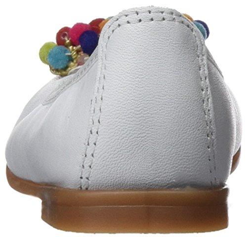 Pablosky Mädchen 318401 Ballerinas mit Geschlossener Spitze Weiß