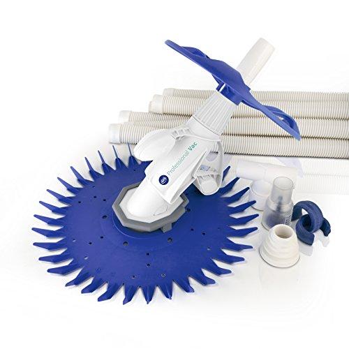Gre 19007 Professional Vac - Limpiafondos Automático para Piscina, 1/4 CV