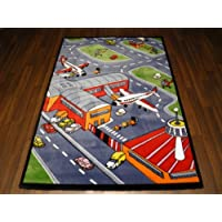 Woven Backed Kids Airport Rug 120cm x 170cm Approx 6x4