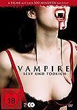DVD Cover 'Vampire - Sexy und tödlich (6 Vampirfilme auf 2 DVDs)