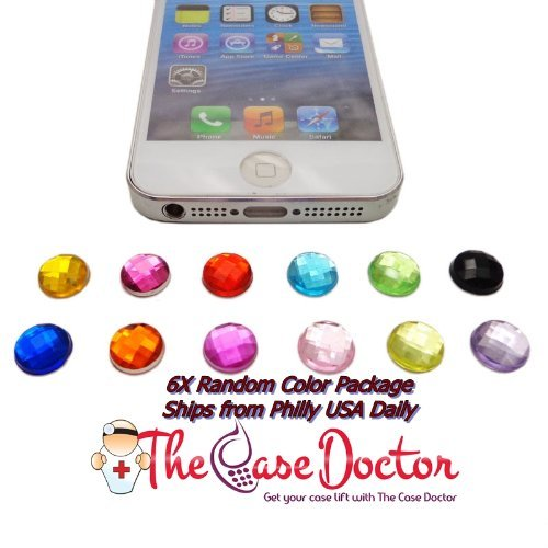 Verizon Generation Ipad 3g 4. (6 Mix Diamant Bling Home Button Aufkleber für Apple iPhone 5 5 G 5. 4 4s 4 G 3 GS iPad 2 3 4 Neue iPAD)
