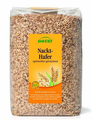 Davert Nackthafer, 2er Pack (2 x 1 kg) - Bio