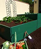 GardenSkill Build-It Raised Bed - Double Height (2 x 250mm high)