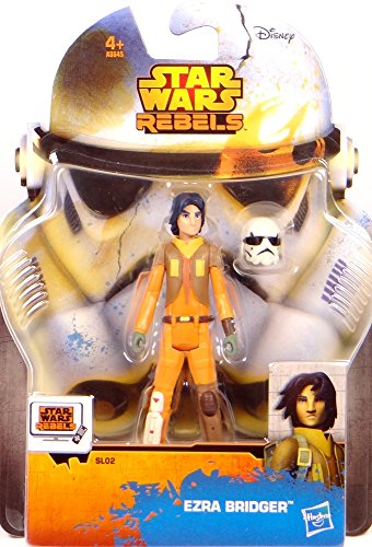 Preisvergleich Produktbild Ezra Bridger Star Wars Rebels SL02 - Saga Legends Actionfigur 2014 von Hasbro / Disney