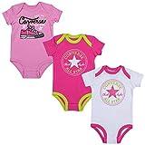 Converse Baby Mädchen (0-24 Monate) Unterhemd rosa rose 3-6 Monate Gr. 9-12 Monate, rose