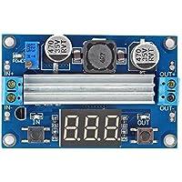 SainSmart Adjustable Boost 3~ 35V a 3,5~ 35V 5/12V DC Regulated Power Supply Voltage Converter Module With Digital volt metri
