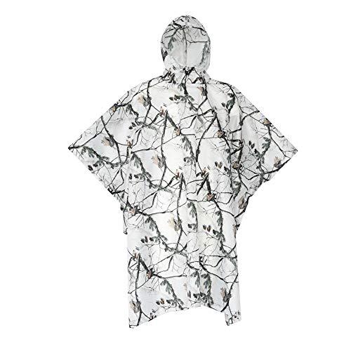 Poncho Hood Impermeable reutilizable Ligero Transpirable
