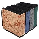 cofco billige Einfache Fashion CD Tasche 40CD Paket geladen Faserstoff Fall CD Clip Fall