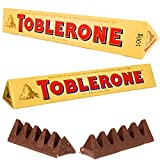 #9: Savicent Toblerone 2 Packs Of 100 Grams Swiss Chocolates